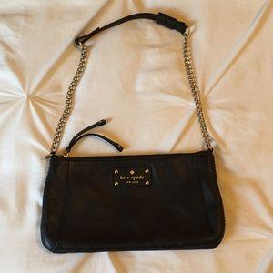 Kate Spade Small black leather purse